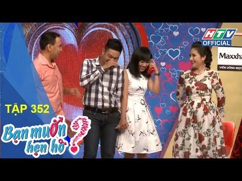 HTV BẠN MUỐN HẸN HÒ | BMHH #352 FULL | 28/1/2018