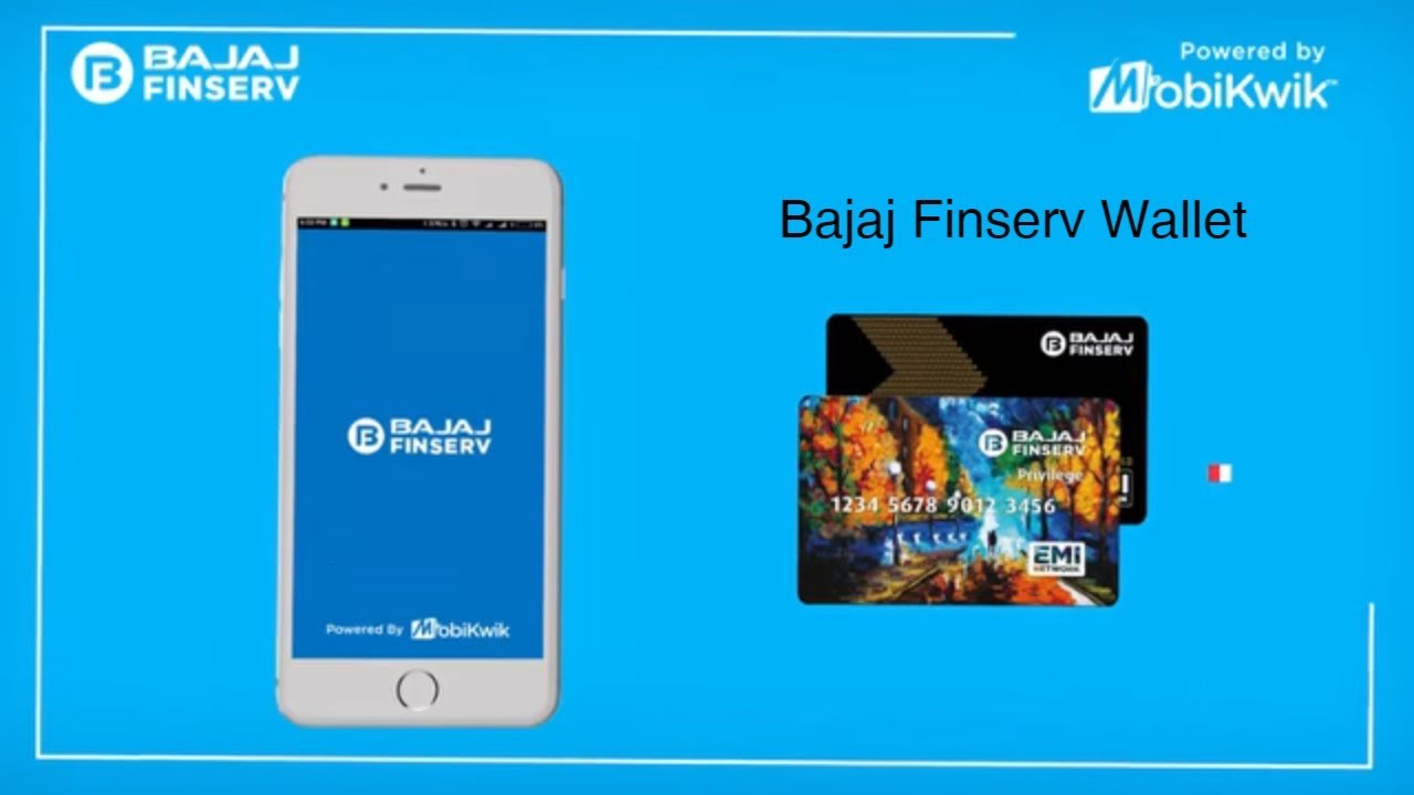 Bajaj Finserv Wallet - Install Digital EMI Card App & Get