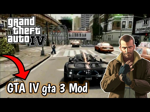 GTA IV High graphics Mod For GTA 3 ( for Android ) Only 87mb