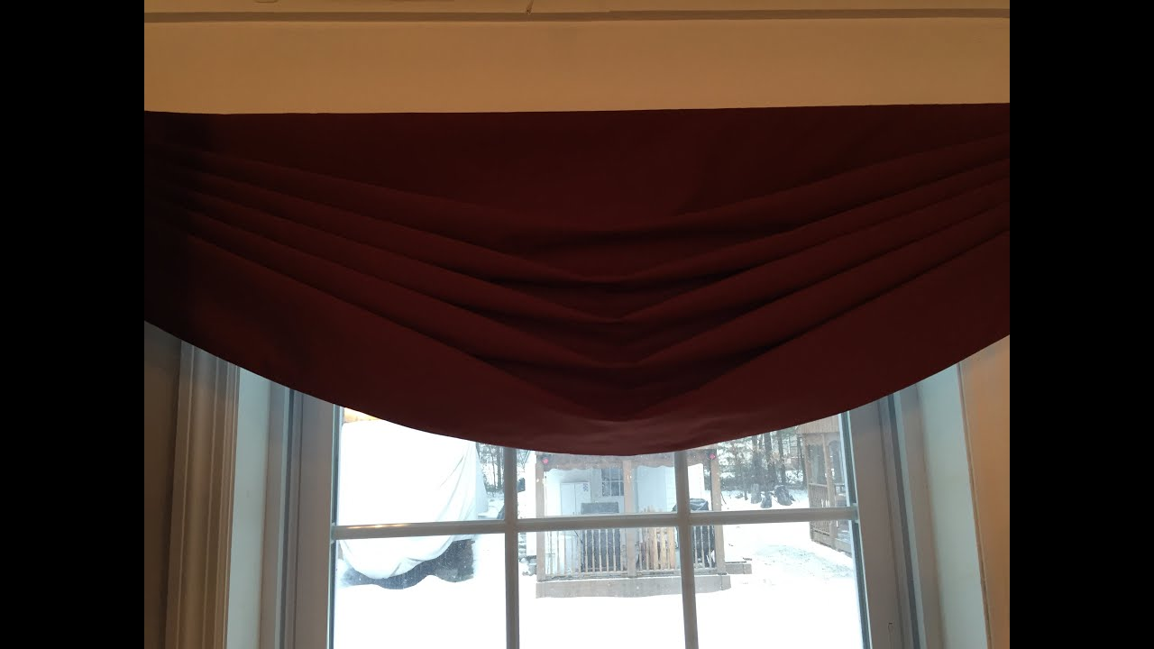 swag home of class swags valances window decorating touch design ideas kitchen valance and