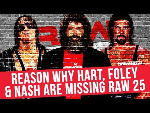 Reason Why Brett Hart, Mick Foley & Kevin Nash Will Not Be On The RAW 25th Anniversary Special