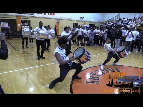 Proviso West vs Dunbar 2018 - Drumline Battle Windy City Rumble