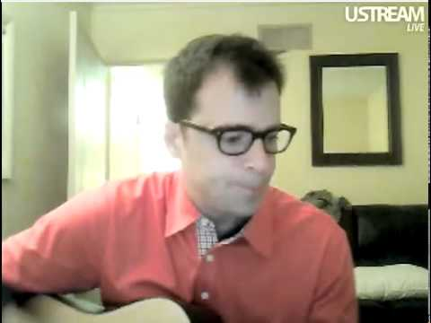 Weezer - Paranoid Android (acoustic) (Ustream)