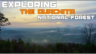 Exploring Ouachita national Forest
