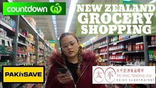 NEW ZEALAND GROCERY SHOPPING | COUNTDOWN | PAK N SAVE | TAI PING | PINOY IN NEW ZEALAND