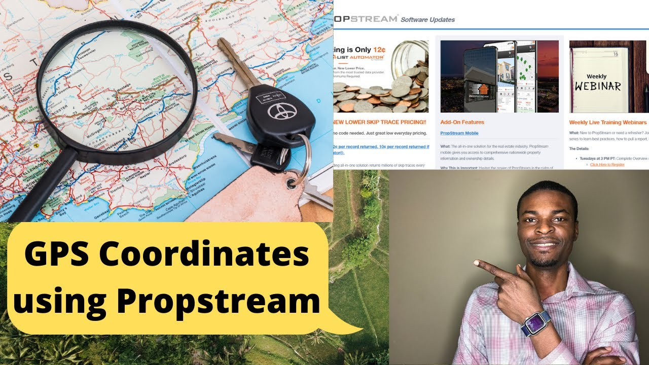 How to find GPS Coordinates for your Vacant Lot in Propstream