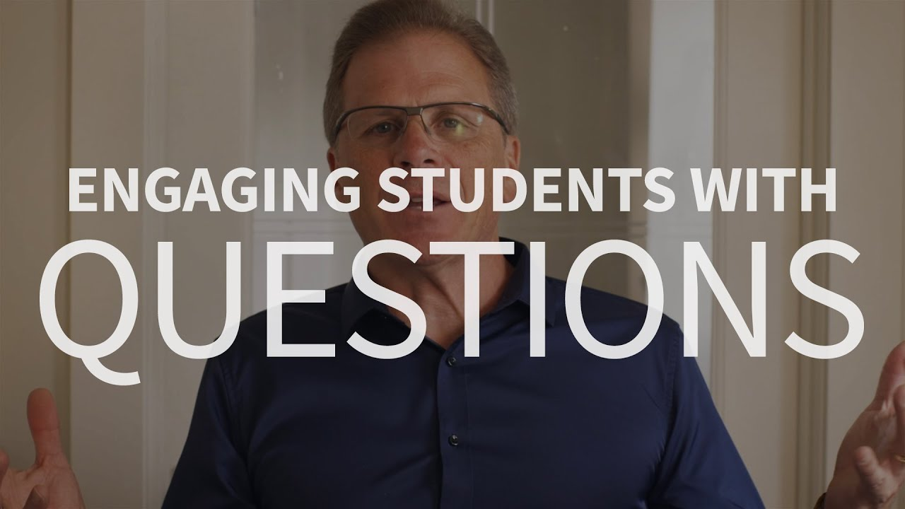 How can we engage college students about important ideas?
