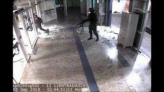 Câmeras flagram ação de bandidos em assalto a banco em Bauru