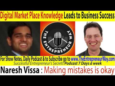 021 Digital Market Place Knowledge Leads to Business Success with Naresh Vissa Founder of Krish Medi