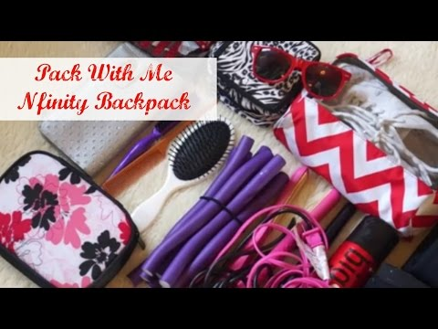 Pack With Me/Nfinity Backpack