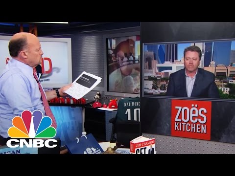 Zoe's Kitchen CEO: Heating Up Profits | Mad Money | CNBC