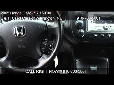 Honda Civic Wilmington Nc >> 2005 Honda Civic EX Coupe For Sale Wilmington, NC Call 910-763-5001 - YouTube