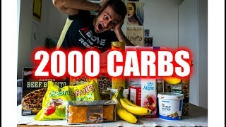 THE ULTIMATE 10,000 CALORIE CHALLENGE | 2000 GRAMS OF CARBS