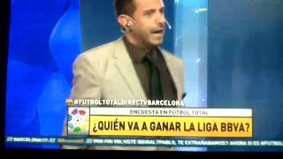 Pablo Giralt desata su ira con Fernando Petrocelli en Futbol Total 2014