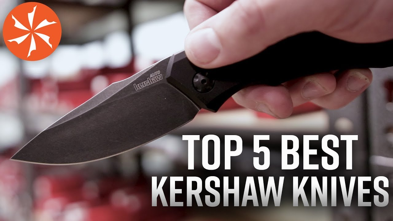 The Top 5 Best Kershaw Knives Available at KnifeCenter com