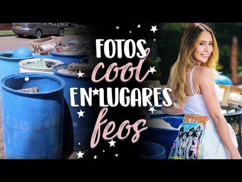 Fotos COOL en lugares FEOS Ugly location CHALLENGE l Nancy Loaiza