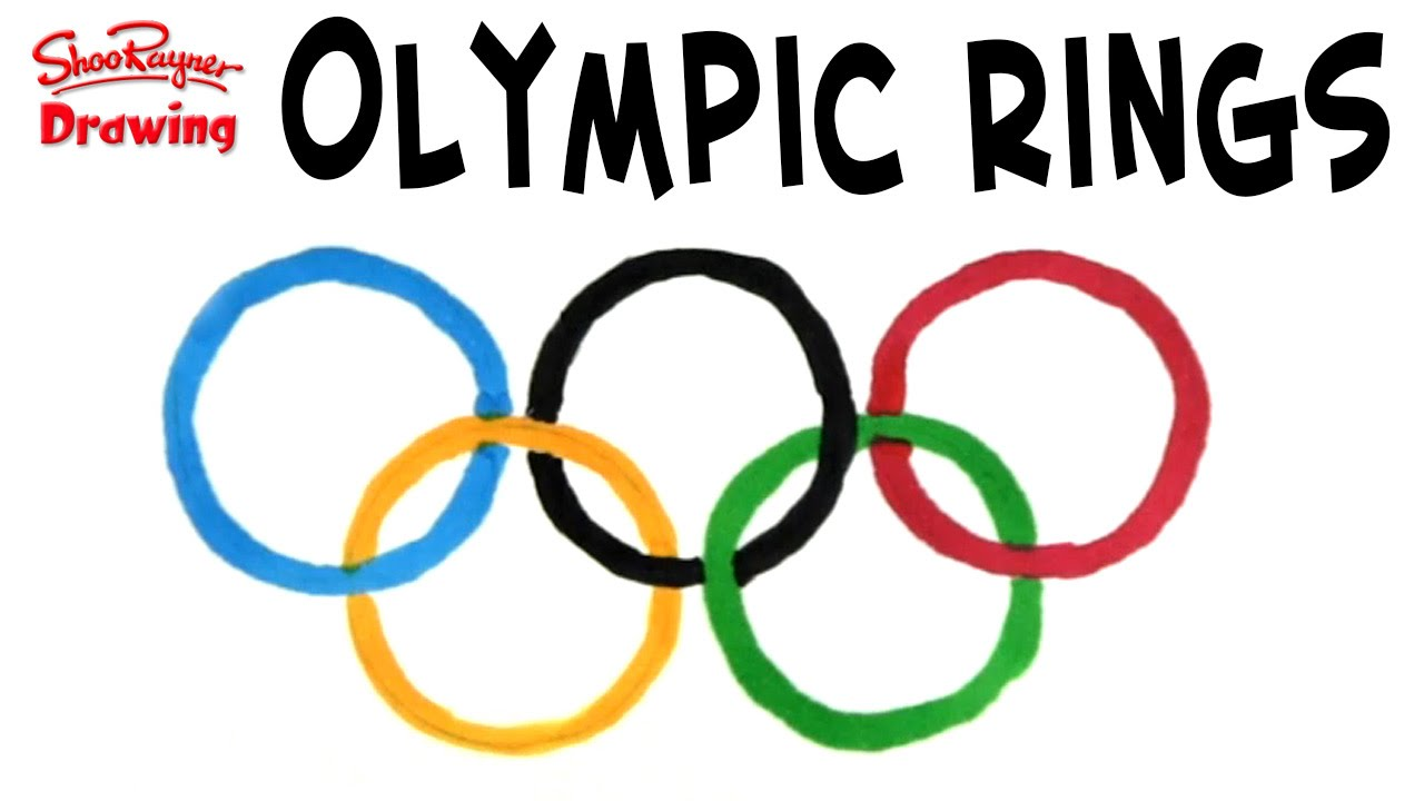 Draw The Olympic Rings Easy Like A Sunday Morning 1 Youtube