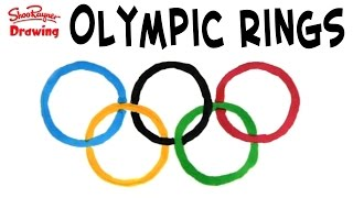 Draw the Olympic Rings - Easy Like a Sunday Morning #1