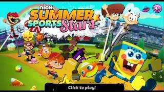 NICK | SUMMER SPORTS STARS | GAMES FOR KIDS | WALKTHROUGH