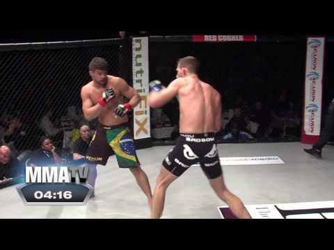 BCMMA#14 - Charles Andrade Vs Luke Barnatt - Professional 185lbs Middleweight Contest
