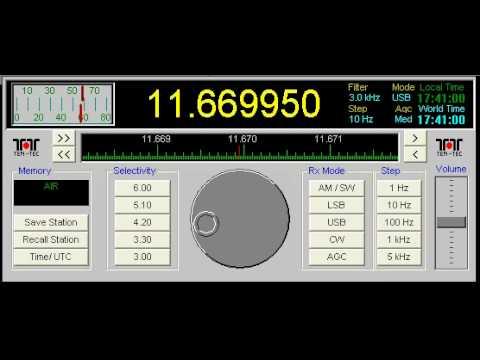 All India Radio is Disturbing 4 Shortwave Radio Stations on 11670 kHz