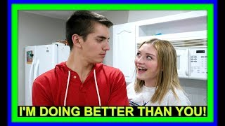 I'M DOING BETTER THAN YOU! | HOME IMPROVEMENTS! | BAKING!