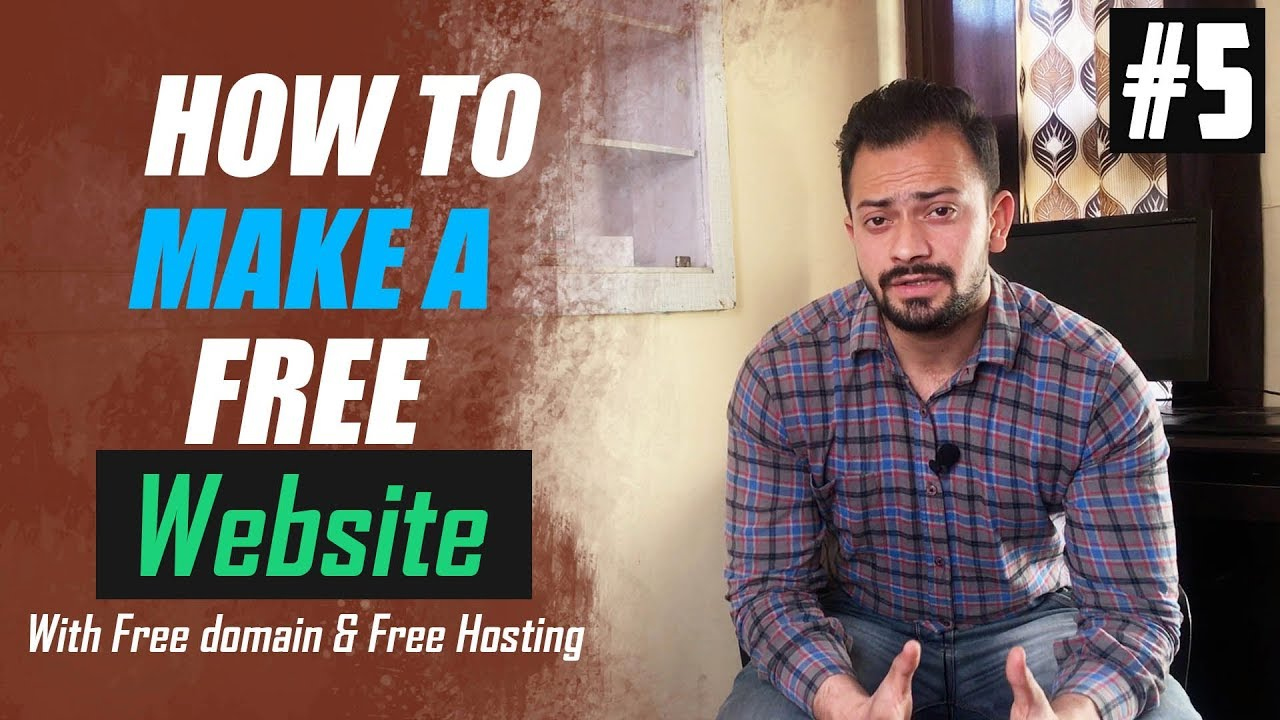 how to develop a website for free