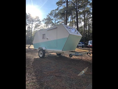 Teardrop Trailer Camper, Homemade Build, Tiny House?