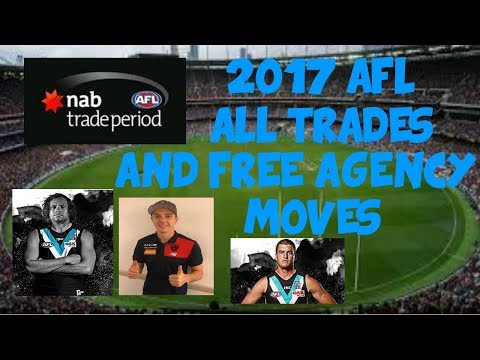 2017 AFL Trade Period - All Trades and Free Agency Moves so Far!