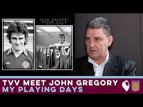 The Villa View meet John Gregory [Part 1] | MY PLAYING DAYS