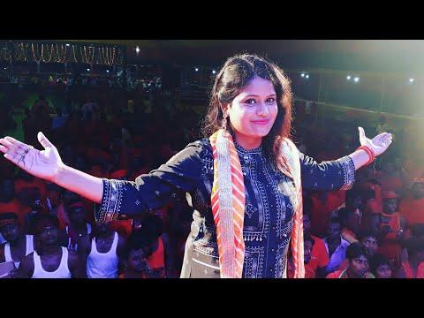 KHUSHBOO UTTAM LIVE PERFOMANCE In DEOGHAR  IPC CAMP   BOLA BAM BAM