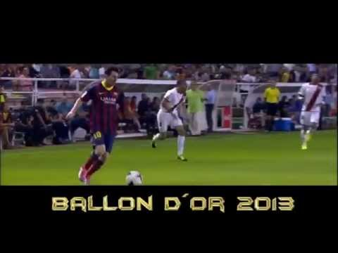 Lionel Messi vs Cristiano Ronaldo vs Ribery   Ballon d'or 2013  video by teo cri