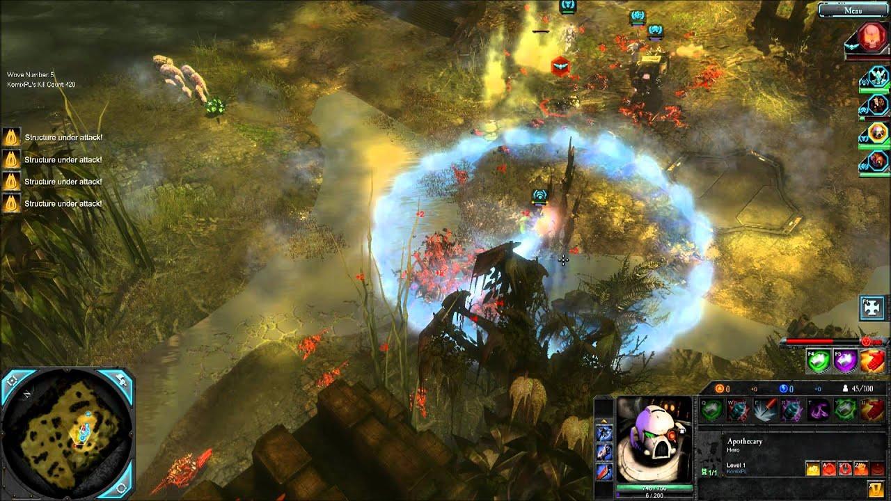 Dawn Of War 2 Mod Killteam Youtube
