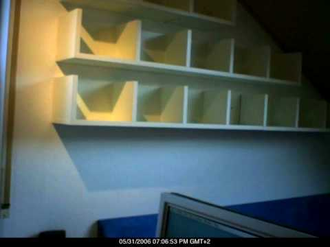 Timelapse IKEA DVD shelf mounting YouTube – Dvd Storage Cabinet Ikea