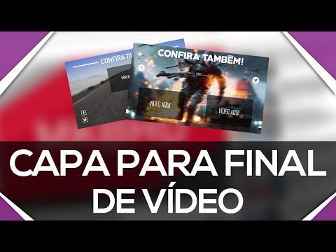Download Capa para final de vídeo | Endcard Template | 2 MODELOS