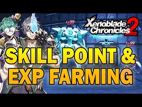 Skill Point and Bonus Experience Farming Strategy in NG+! (Xenoblade Chronicles 2)