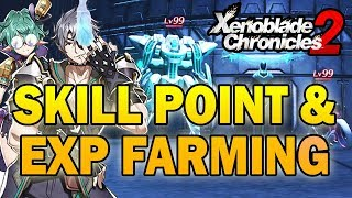 Skill Point and Bonus Experience Farming Strategy in NG+! (Xenoblade Chronicles 2)