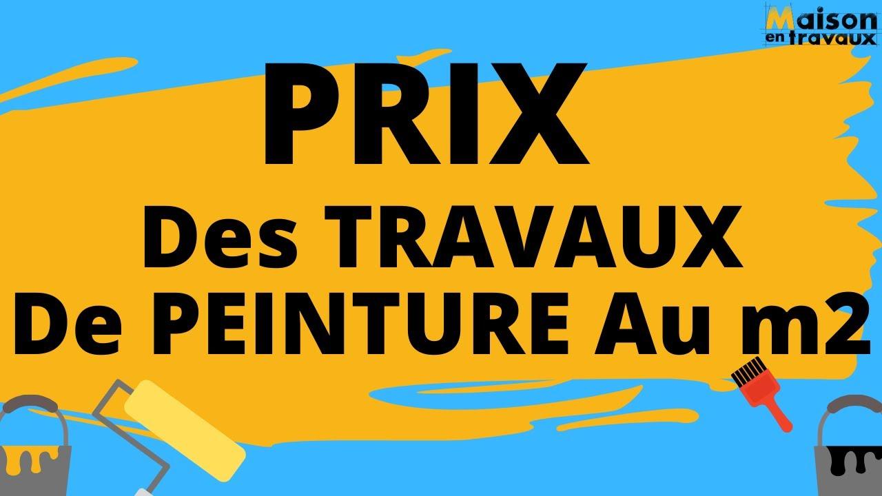 Prix Des Travaux De Peinture Au M