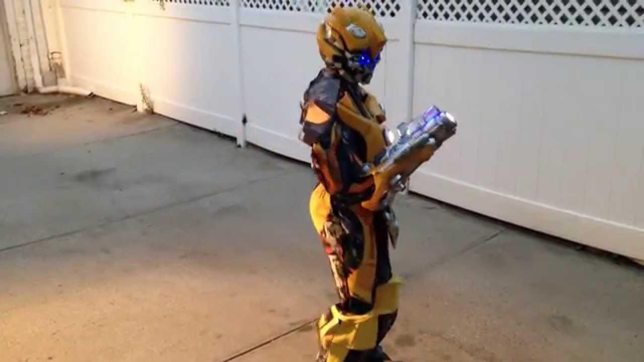 & Bumblebee Transformers Costume 2014 - YouTube