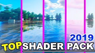TOP 4 SHADERS PACK MINECRAFT 2019   1.15.2 - 1.14 Sin Lag