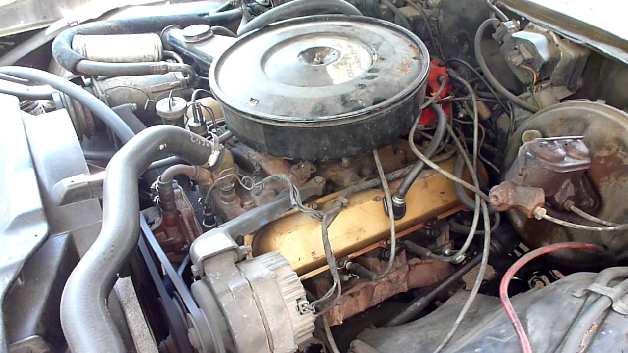 1972 oldsmobile cutlass s golds 350 rocket engine youtube rh youtube com