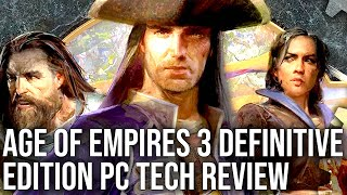 Age of Empires 3 Definitive Edition - The Digital Foundry PC Tech Review