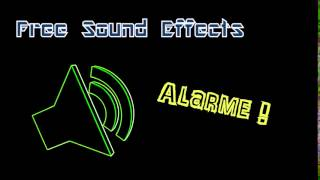 Alarme Danger - Free Sound Effects