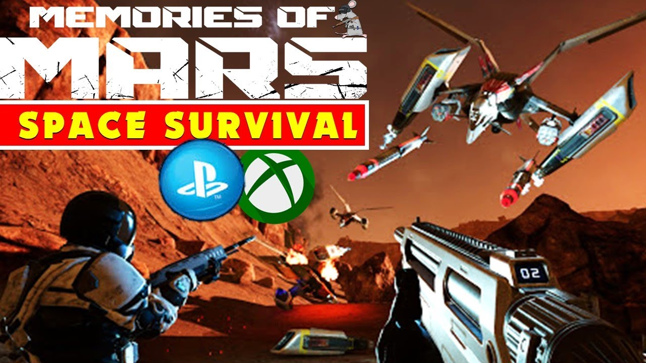 "MEMORIES OF MARS PS4 XB1 Release! NEW Survival Multiplayer ""Rust In Space"""