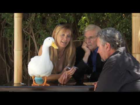 SOS: Martin Landau, Gretchen Becker, Sam Hill and Walt the Duck call Ted Lange