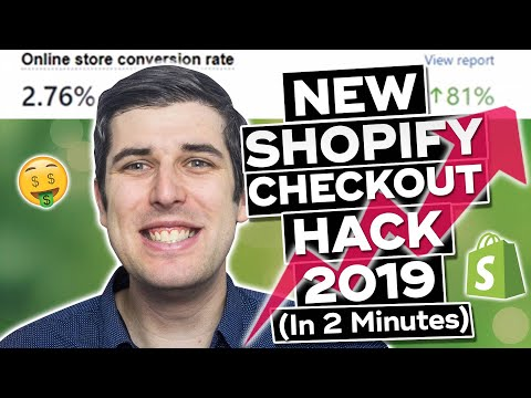 NEW FREE ULTIMATE SHOPIFY CHECKOUT HACK 2019 UPDATED   CONVERSION PIRATE HACK thumbnail