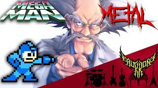 Megaman 2 - Dr. Wily Stage 1 【Intense Symphonic Metal Cover】