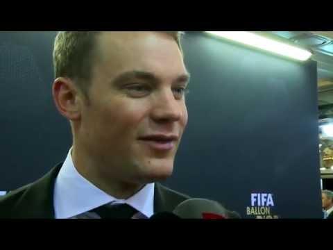 "Manuel Neuer: ""Gibt keine Enttäuschung"" | Cristiano Ronaldo, Lionel Messi | Ballon d'Or"