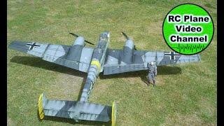 Messerschmitt BF-110 - ESM / KMP / PH - 2413mm - 2x20ccm - MSG Stiftland - Markus HD