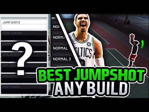 THE BEST 2 GREENLIGHT JUMPSHOTS FOR ANY BUILD IN NBA 2K19